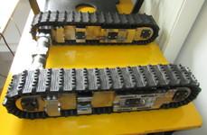 hydraulic rov tracks